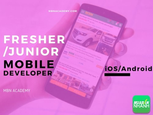 Fresher/Junior Mobile Developer (iOS/Android), 22, Huyền Nguyễn, Mua Bán Nhanh ACADEMY, 04/01/2018 17:42:41